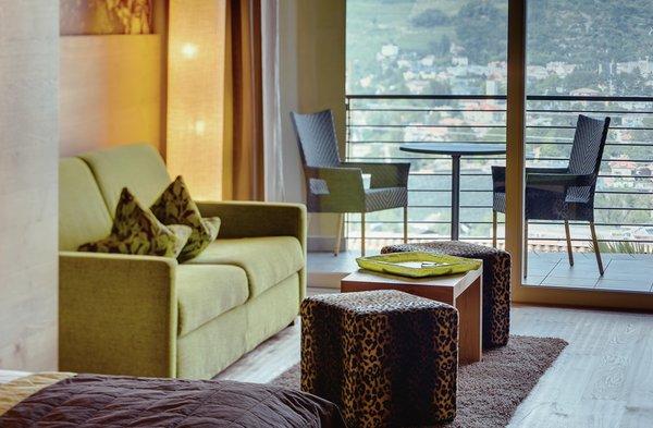 La zona giorno Hotel La Maiena Meran Resort