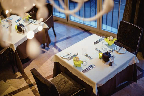 Il ristorante Marlengo La Maiena Meran Resort