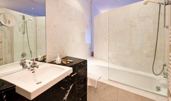 Foto del bagno Hotel Marlena