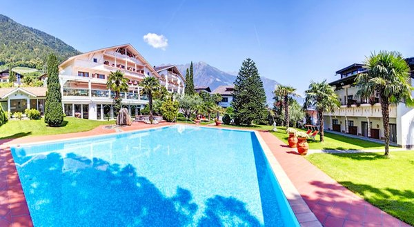 La piscina Glanzhof - Hotel + Residence 4 stelle