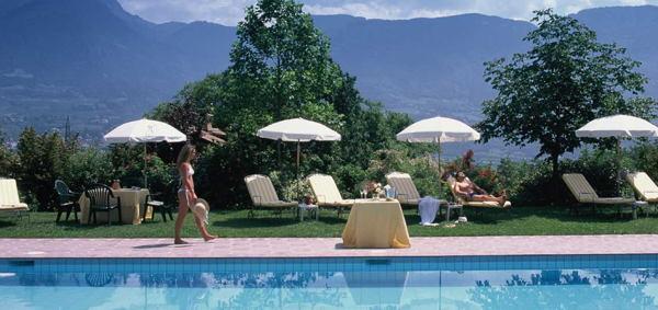 La piscina Hotel Kristall
