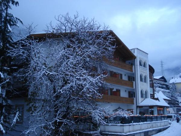 Foto invernale di presentazione Hotel Marlingerhof
