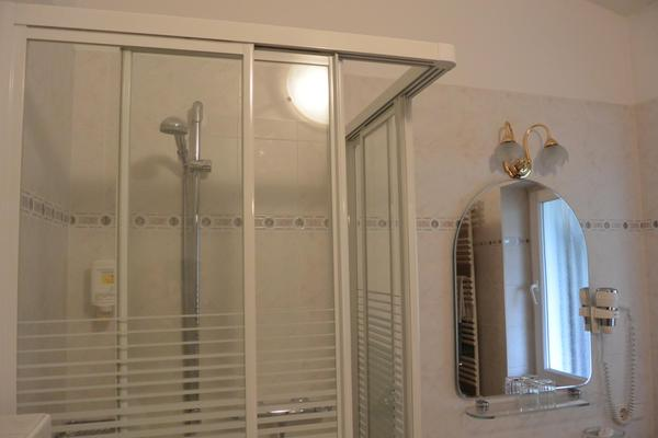 Foto del bagno Hotel Marlingerhof