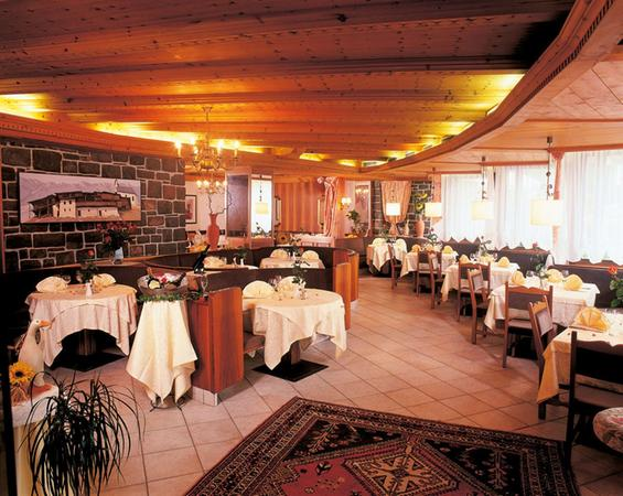 Il ristorante Marlengo Marlingerhof