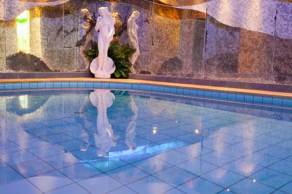 La piscina Hotel Paradies