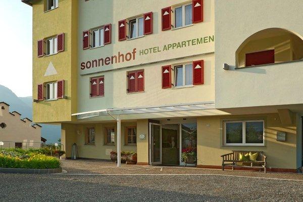 Foto esterno in estate Sonnenhof