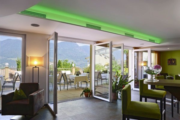 Le parti comuni Hotel + Residence Sonnenhof