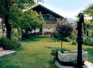 Foto esterno in estate Bründlerhof