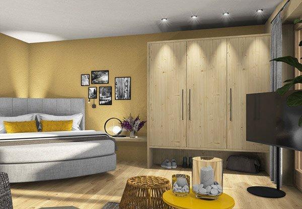 Foto della camera Appartamenti in agriturismo Birkenhof