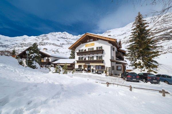 Foto invernale di presentazione Hotel Alpenblick