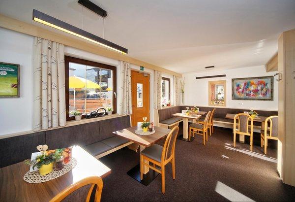 The restaurant Moso in Passiria / Moos in Passeier Alpshotel Bergland
