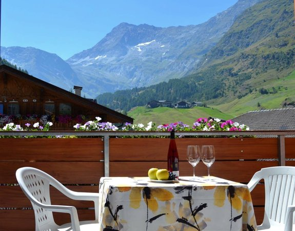 Foto del balcone Alpshotel Bergland