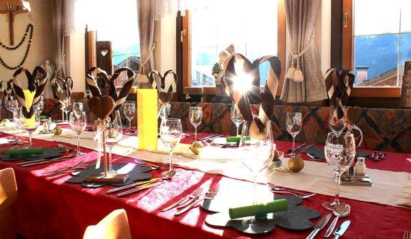 Il ristorante Moso in Passiria Widmann
