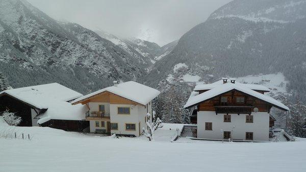 Foto invernale di presentazione Appartamenti in agriturismo Pfeiferhof