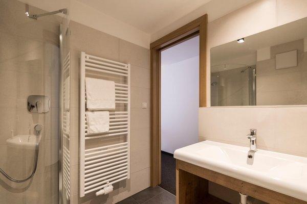 Foto del bagno Garni (B&B) + Appartamenti Grünau