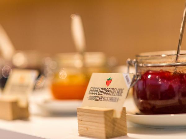 La colazione Design Hotel Tyrol Rabland - Hotel 4 stelle