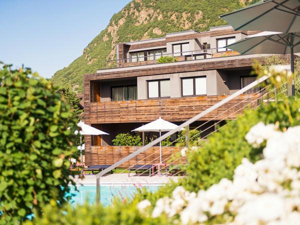 Foto estiva di presentazione Design Hotel Tyrol Rabland - Hotel 4 stelle