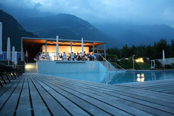 La piscina Design Hotel Tyrol Rabland - Hotel 4 stelle