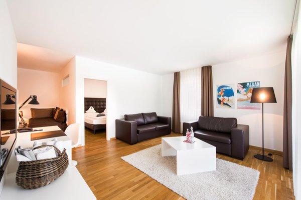 La zona giorno Design Hotel Tyrol Rabland - Hotel 4 stelle