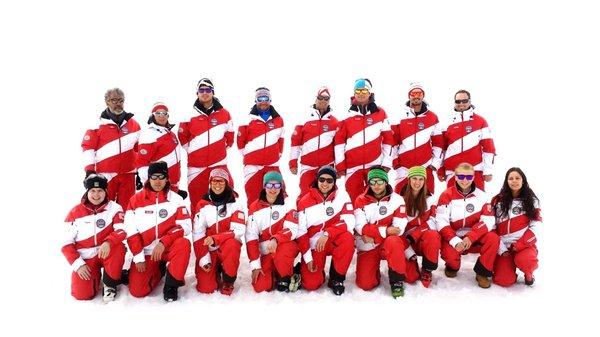 Foto invernale di presentazione Scuola sci e snowboard Resia