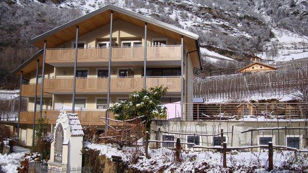Foto invernale di presentazione Residence Sonnenburger