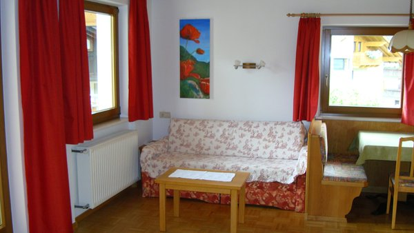 La zona giorno Residence Sonnenburger