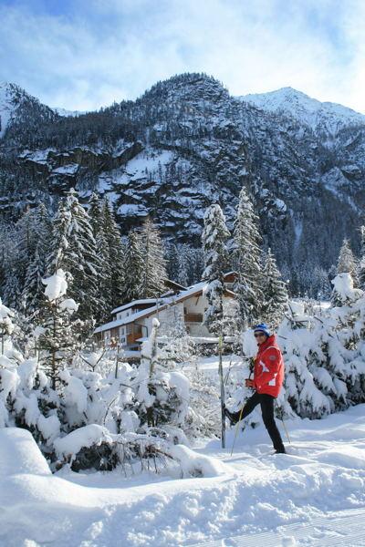 Foto esterno in inverno Martell