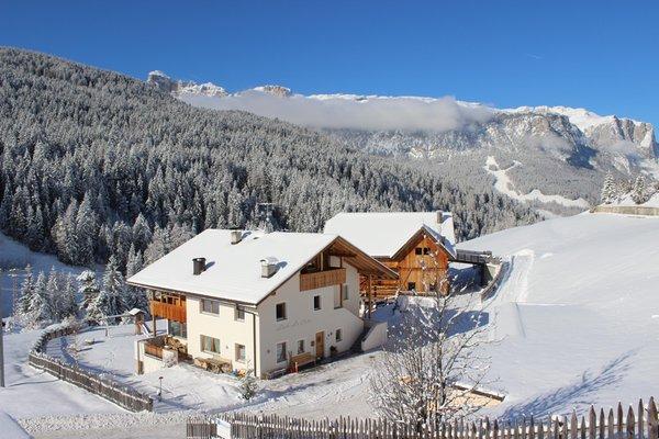 Foto Außenansicht im Winter San Cassiano