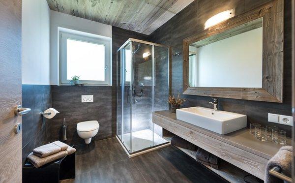 Foto del bagno Appartamenti Haus Wiesenstein