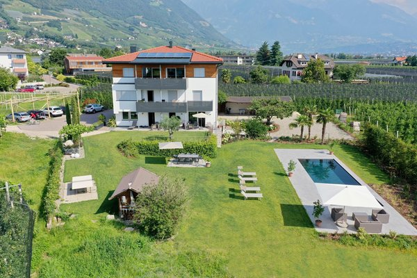 Foto estiva di presentazione Appartamenti Haus Wiesenstein
