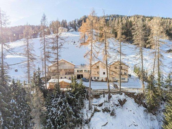 Lage Ferienwohnungen auf dem Bauernhof Maso Planat S. Cassiano - Armentarola
