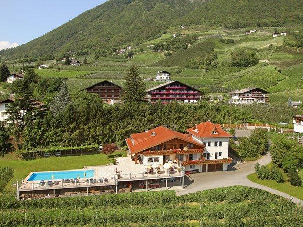Foto esterno in estate Weihergut
