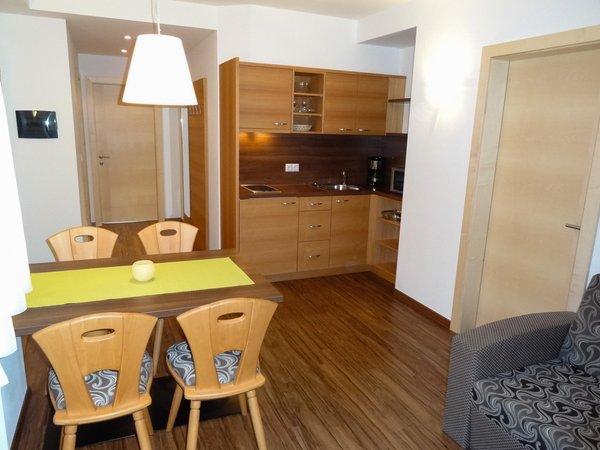 La zona giorno Pensione + Appartamenti Weihergut