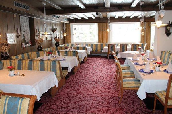 La sala da pranzo Hotel Aurora