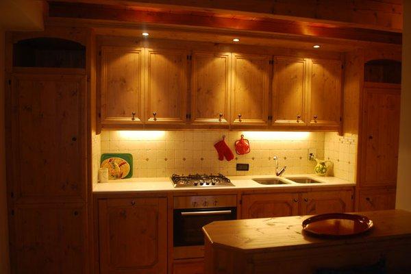 Foto der Küche La Ciandolada