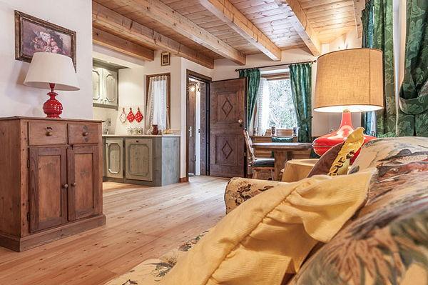 Das Wohnzimmer La Ciandolada - Ferienwohnungen