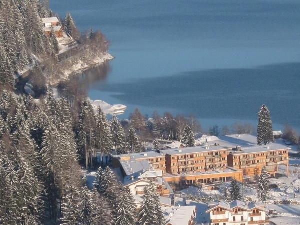 Foto invernale di presentazione Hotel Arosea Life Balance Hotel