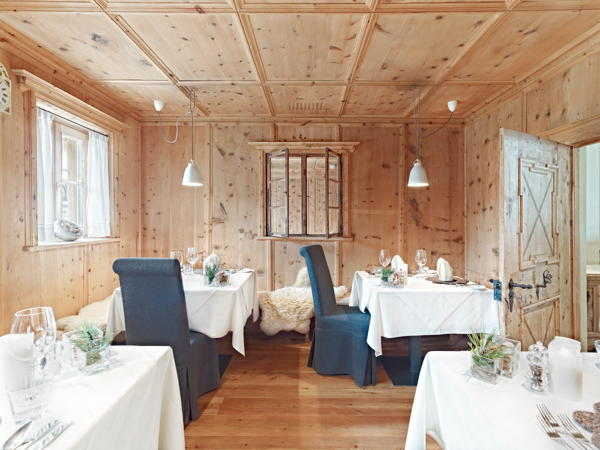 Il ristorante Santa Valburga (Val d'Ultimo) Arosea Life Balance Hotel
