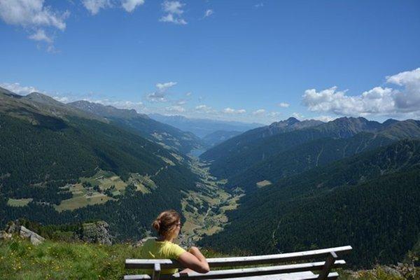 Panorama Santa Valburga (Val d'Ultimo)