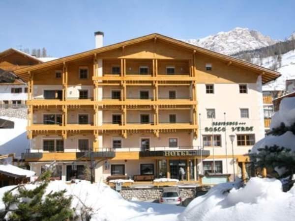 Foto invernale di presentazione Residence Bosco Verde