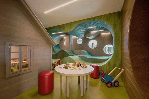 The children's play room Hotel Hohenwart