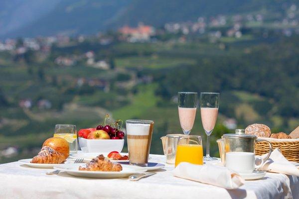 La colazione Schlosswirt - Hotel 4 stelle