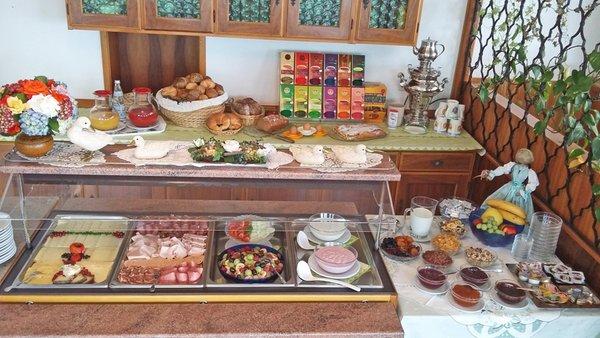 Das Frühstück Garni-Hotel Alpenhof