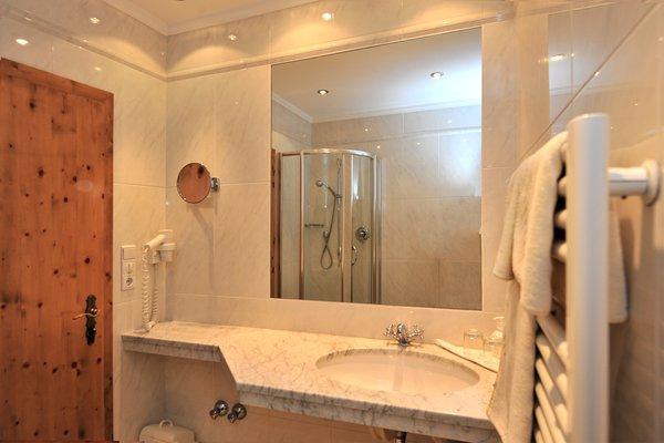 Foto del bagno Hotel Rochushof