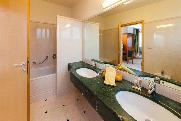 Foto del bagno Hotel Tannerhof