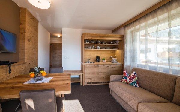 La zona giorno Mittendorf - Residence 3 stelle