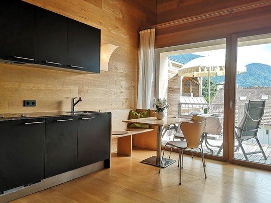 Photo of the kitchen Prairerhof B&B - Apartments