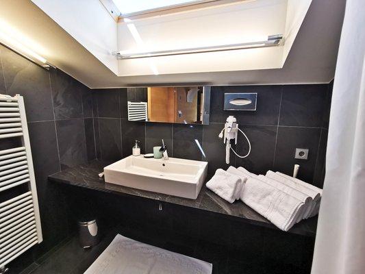 Photo of the bathroom Prairerhof B&B - Apartments