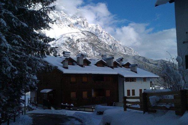 Foto esterno in inverno DolomiTiAmo