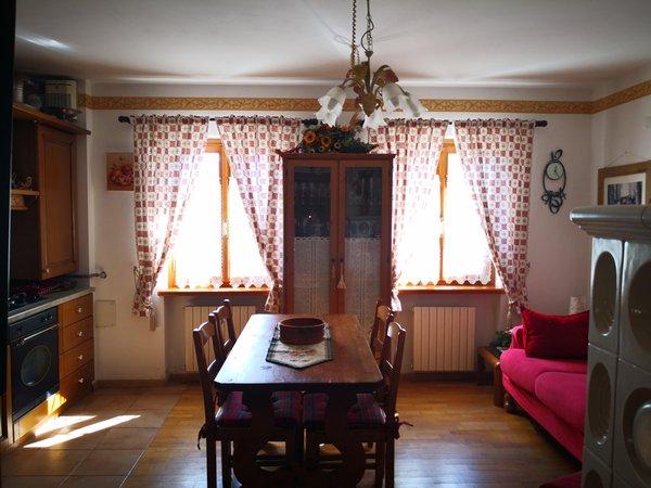 La zona giorno Appartamenti DolomiTiAmo